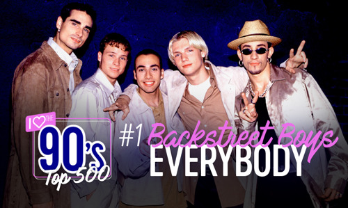 Backstreet's back alright! Backstreet Boys voor de eerste keer op nummer 1 in I Love the 90's Top 500