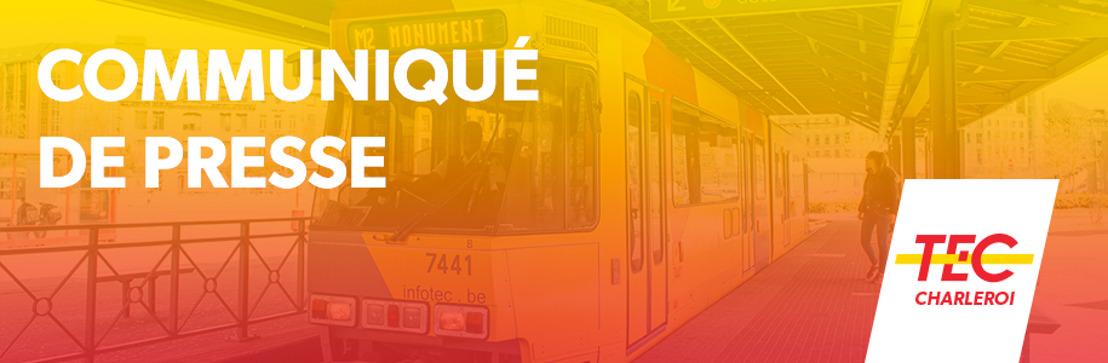 Rénovation des tramways du TEC Charleroi