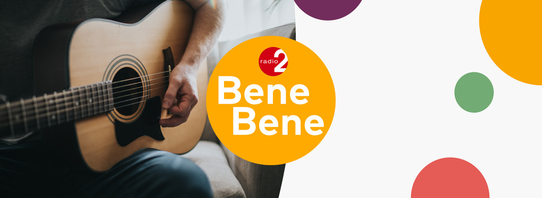 Speciale Radio 2 Bene Bene-sessies op pinkstermaandag: elk uur een andere Vlaamse artiest live op de radio en in de app