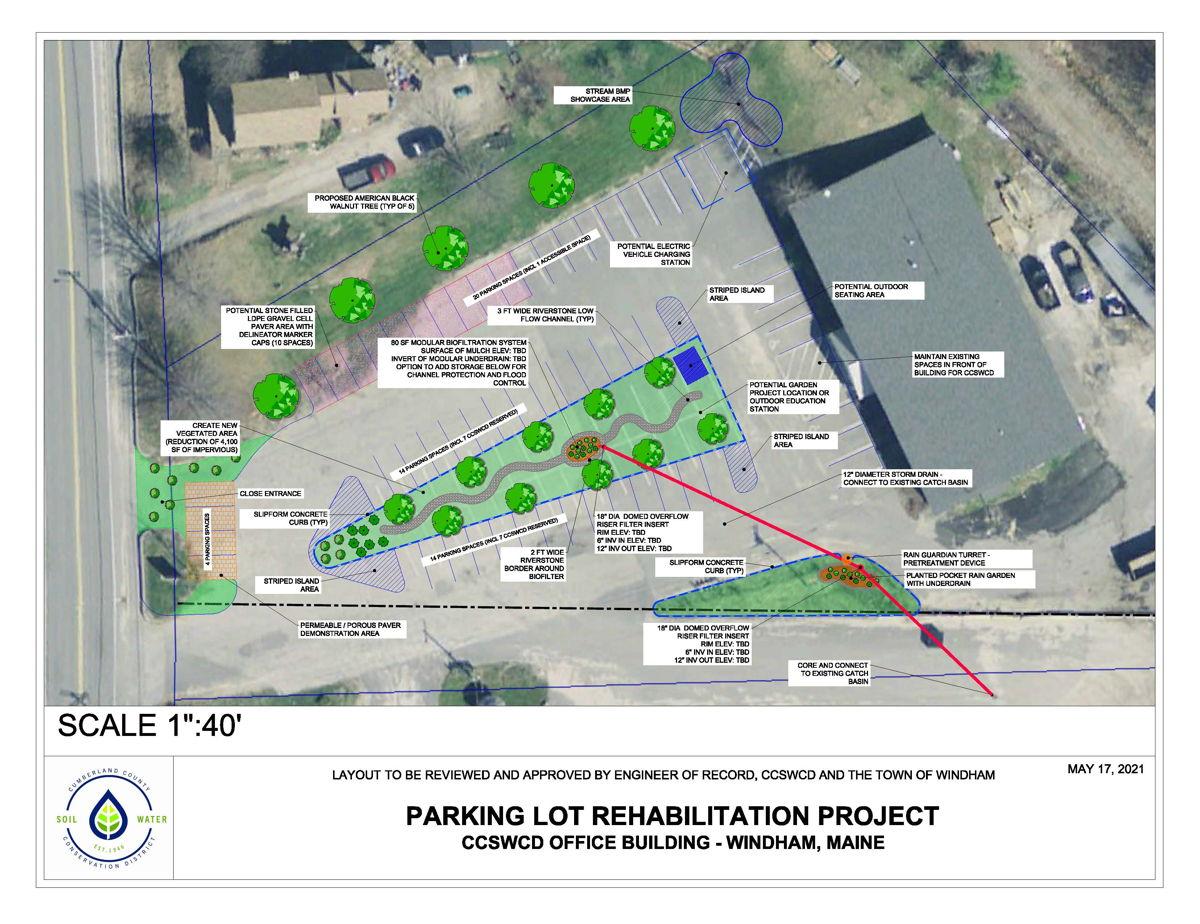 CCSWCD Parking Lot Rehabilitation Project