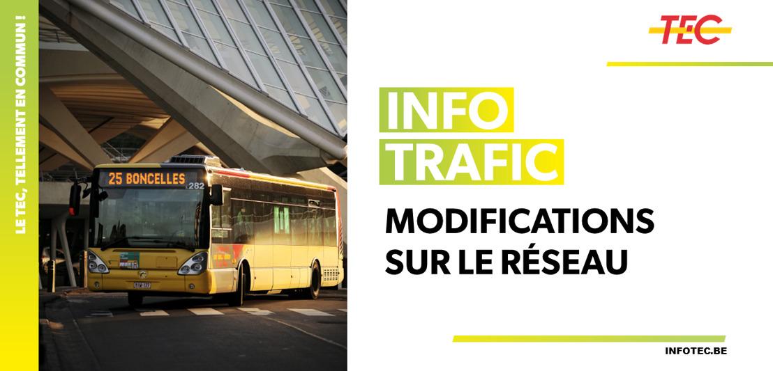 LIGNE WEL 04 Liège-Marche nouvel arrêt à Tinlot et horaires adaptés à partir du 1er janvier 2020
