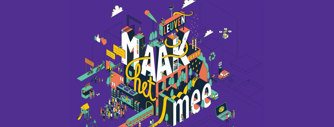 Ontdek het Leuven van de toekomst op het Maak het mee-festival