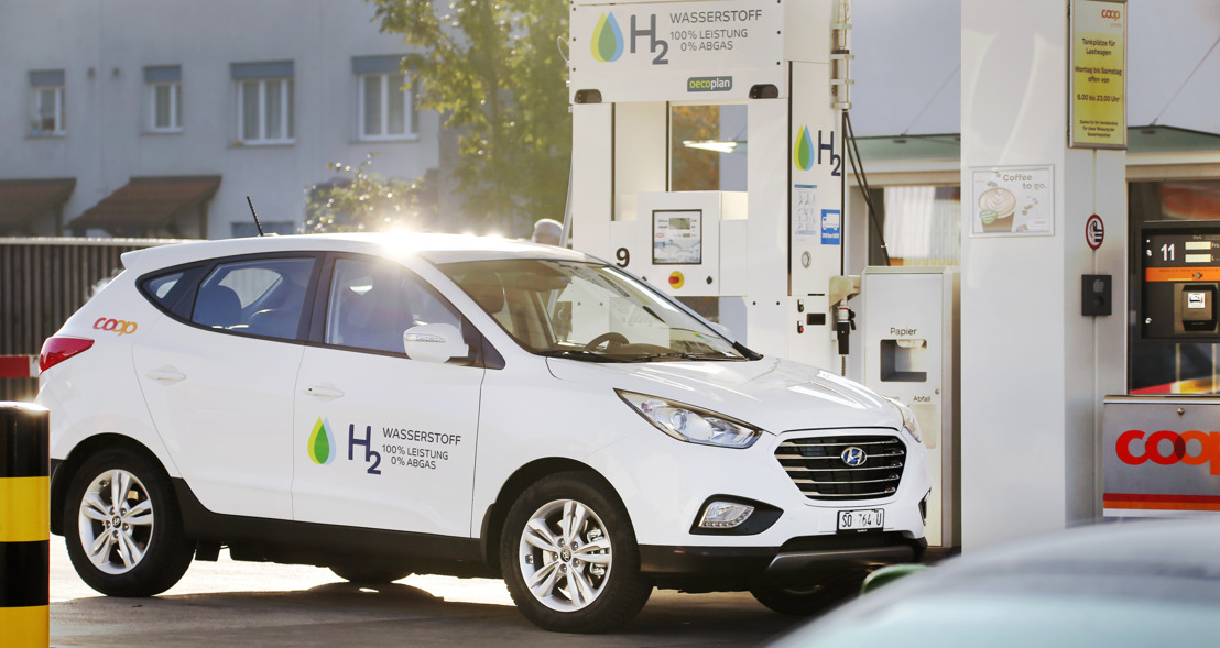 Hyundai ix35 Fuel Cell an der muba 2017