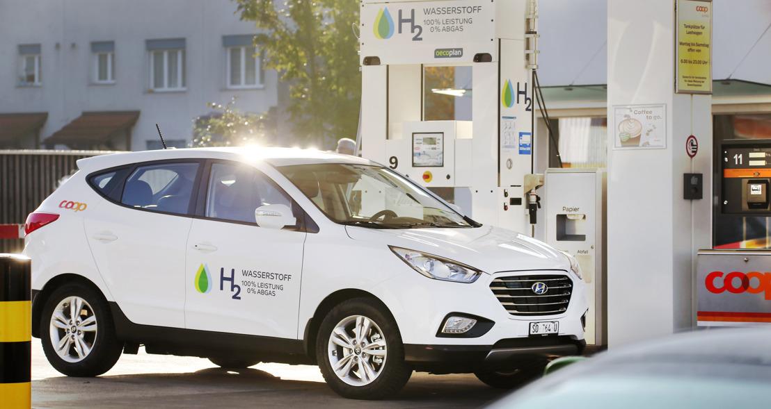 Hyundai ix35 Fuel Cell an der muba 2017