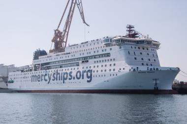 Mercy Ships kündigt die Global Mercy an: Das größte zivile Hospitalschiff der Welt