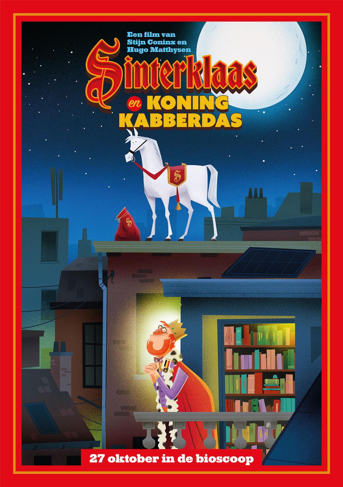 Sinterklaas en Koning Kabberdas dit najaar in de filmzalen.