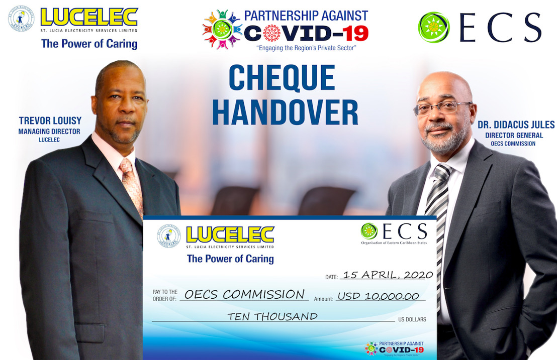 Saint Lucia Electricity Services Limited (LUCELEC) supports Education through OECS' COVID-19 Response