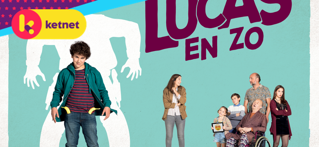 'Lucas en zo' is eerste Ketnet-reeks in coproductie met RTBF