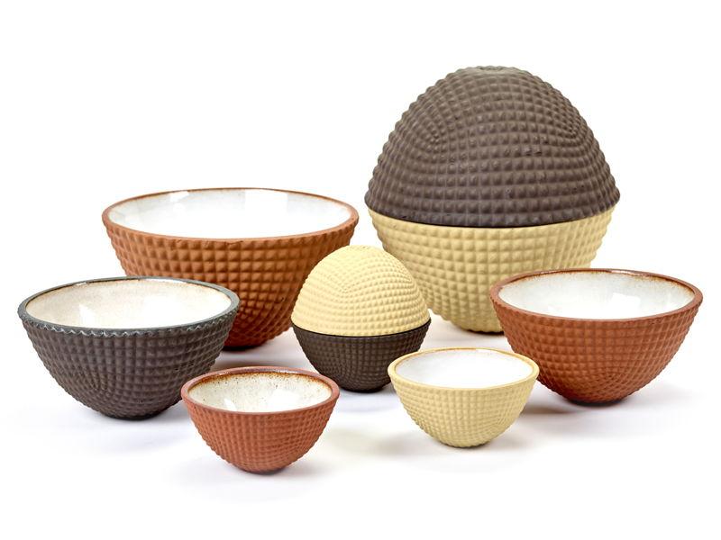 A+A Bowls - Ambachtelijke kommetjes - Ann Van Hoey voor Den Ateljee -<br/> Henry van de Velde Design-led Crafts Award Nominee