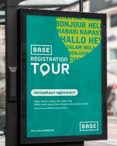 BASE registreert de komende maanden al zijn prepaidklanten