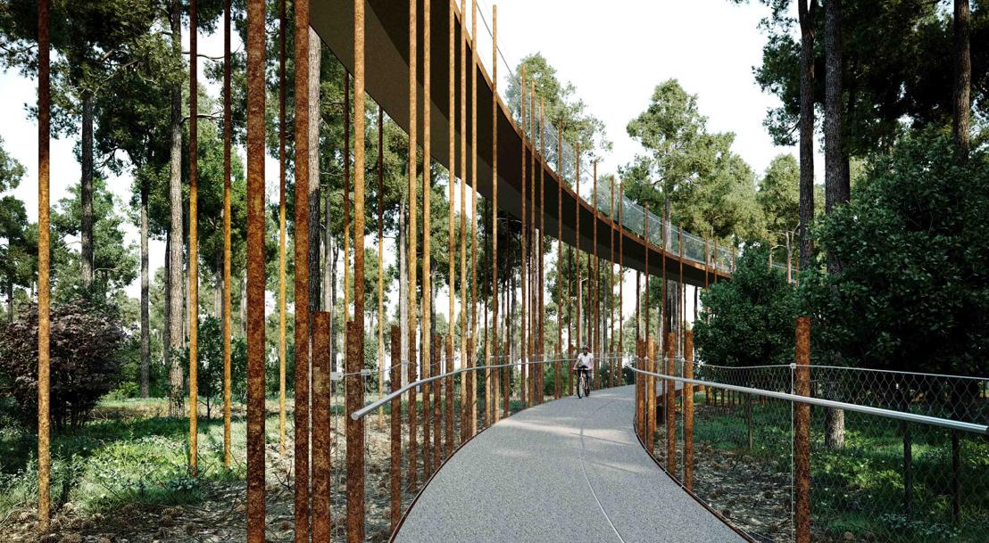 Toerisme Limburg opent 'Fietsen door de bomen'