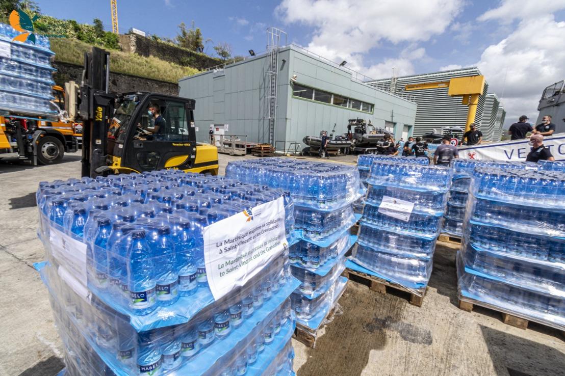 La Martinique exprime sa solidarité à Saint-Vincent et les Grenadines