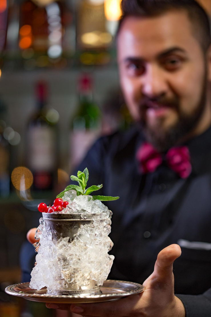 Rama Redzepi<br/>Gin Lounge, Grand Hotel Fasano (Gardone, Brescia)