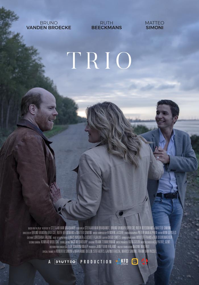 """Matteo Simoni en Ruth Beeckmans komen naar Oostende voor """"Trio"""" in Cinema Storck"""