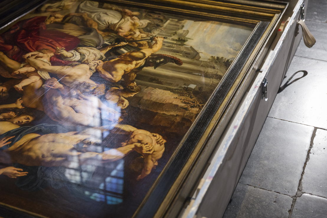 Image name: 28_Rubens, Arrival of the Massacre at the Rubens House, The Thomson Collection at the Art Gallery of Ontario, Art Gallery of Ontario, photo Ans Brys.jpg