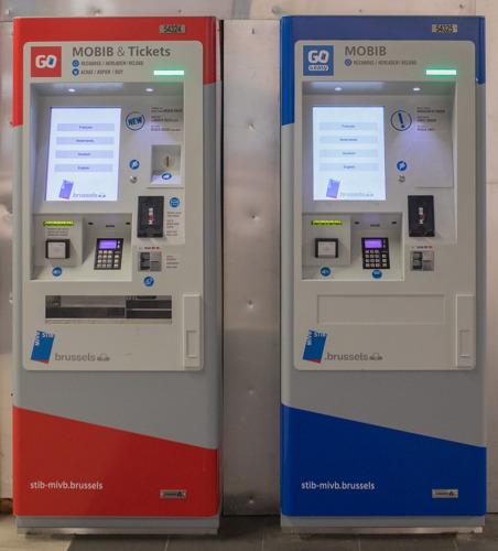 Reprise du déploiement des nouveaux automates de vente de la STIB