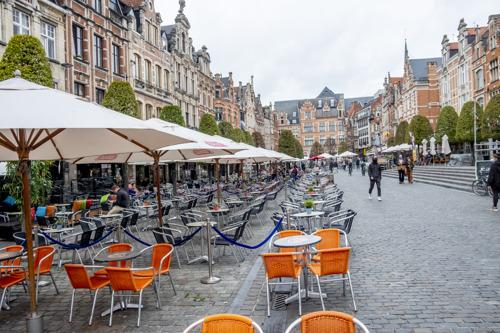 Leuven zet zijn terrassen uit