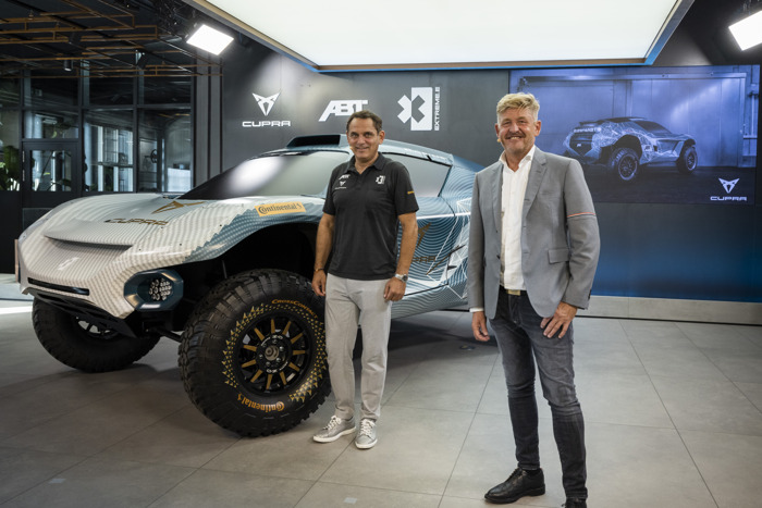 CUPRA inaugurates the first CUPRA Garage in Europe and announces its participation with ABT in Extreme E