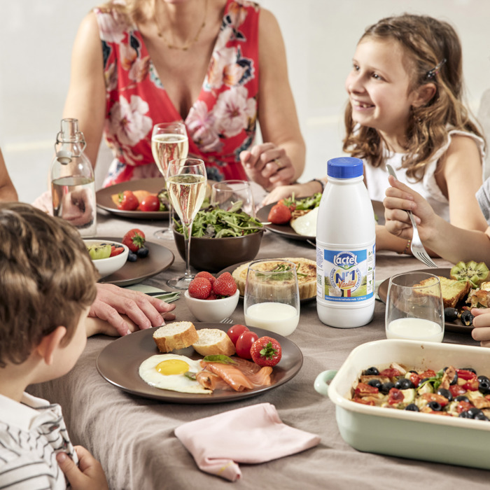 Lactel: de gezonde melkproducten van Ardense bodem