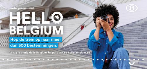 Hello Belgium Railpass: na 1 week 1,5 miljoen aanvragen