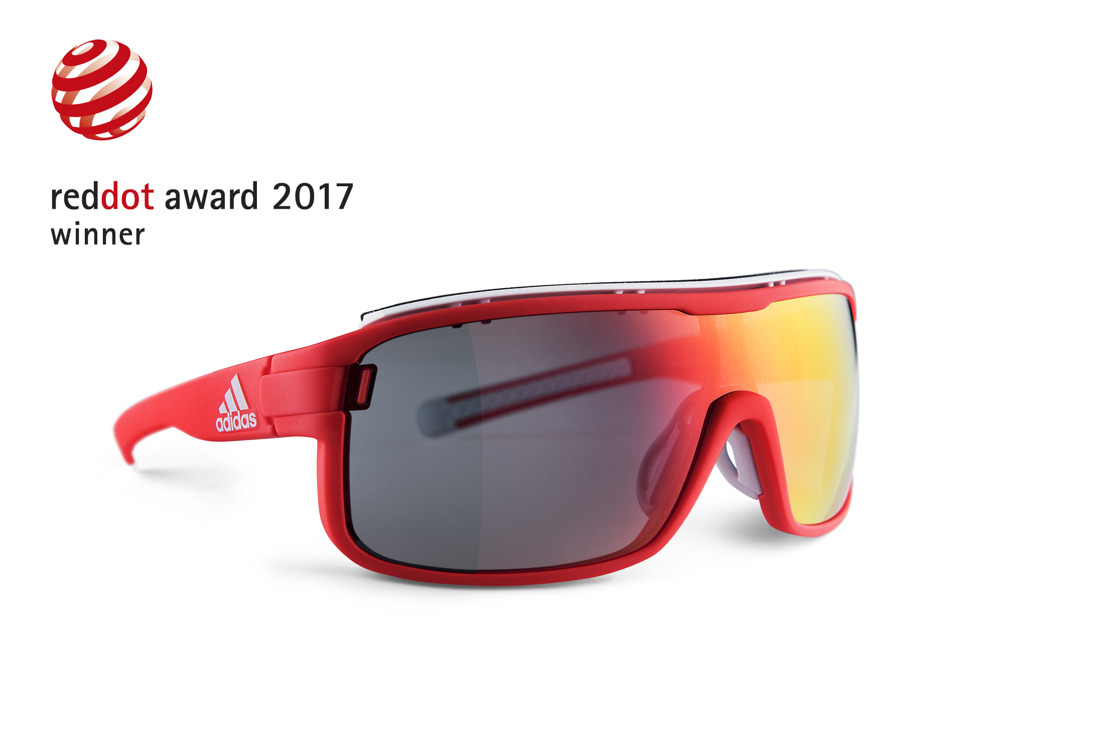 adidas Sport eyewear Takes Three Wins in the Red Dot Award 2017