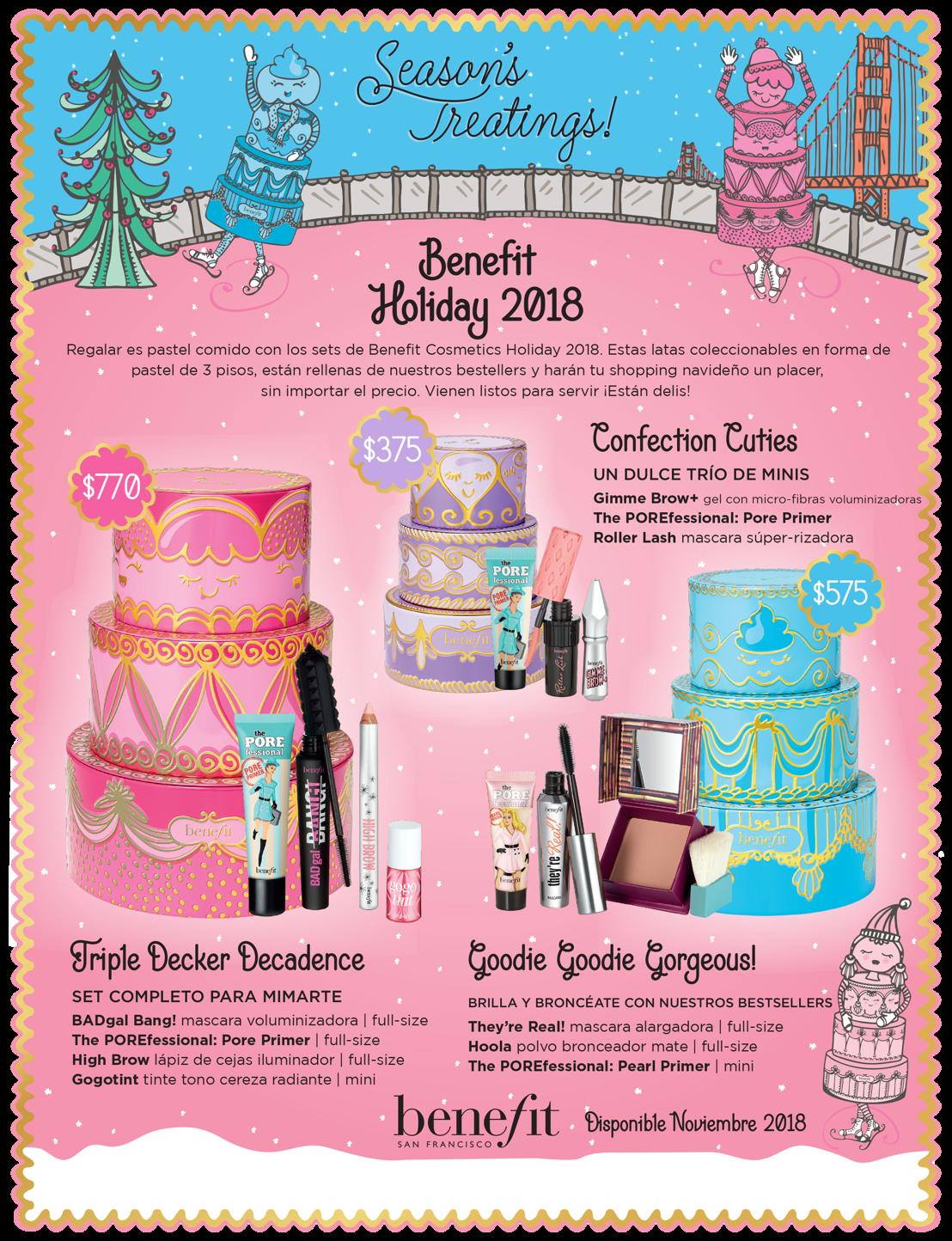 Benefit Cosmetics presenta su colección especial para Holiday