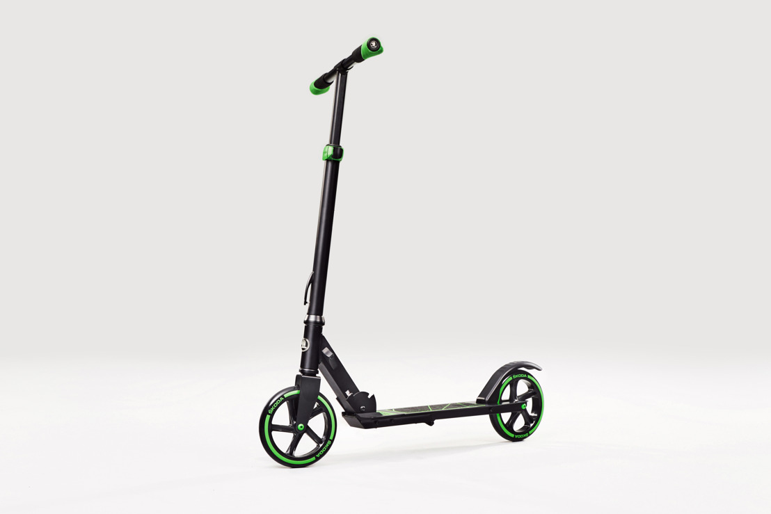 Sustainable and uncomplicated mobility for the final mile: ŠKODA AUTO presents a new scooter concept at the Geneva Motor Show 2018