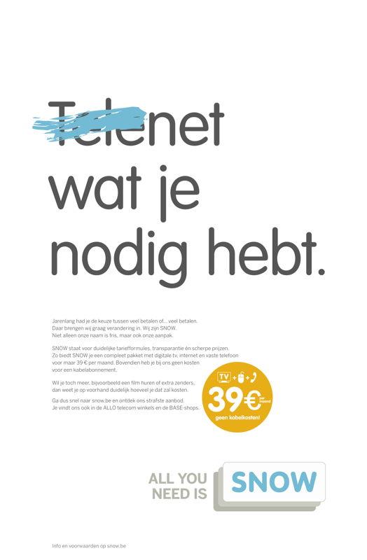 Advertentie 2 - Telenet