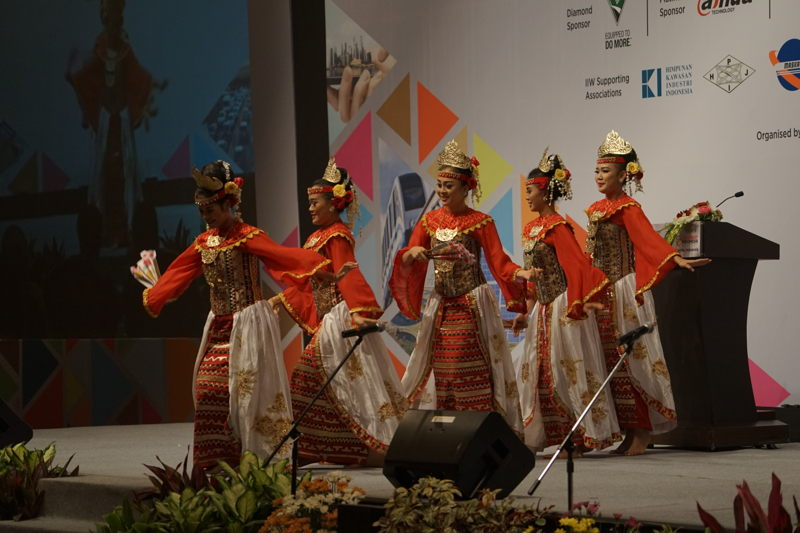 Traditional dance at KIBIG5 2017 Opening Ceremony