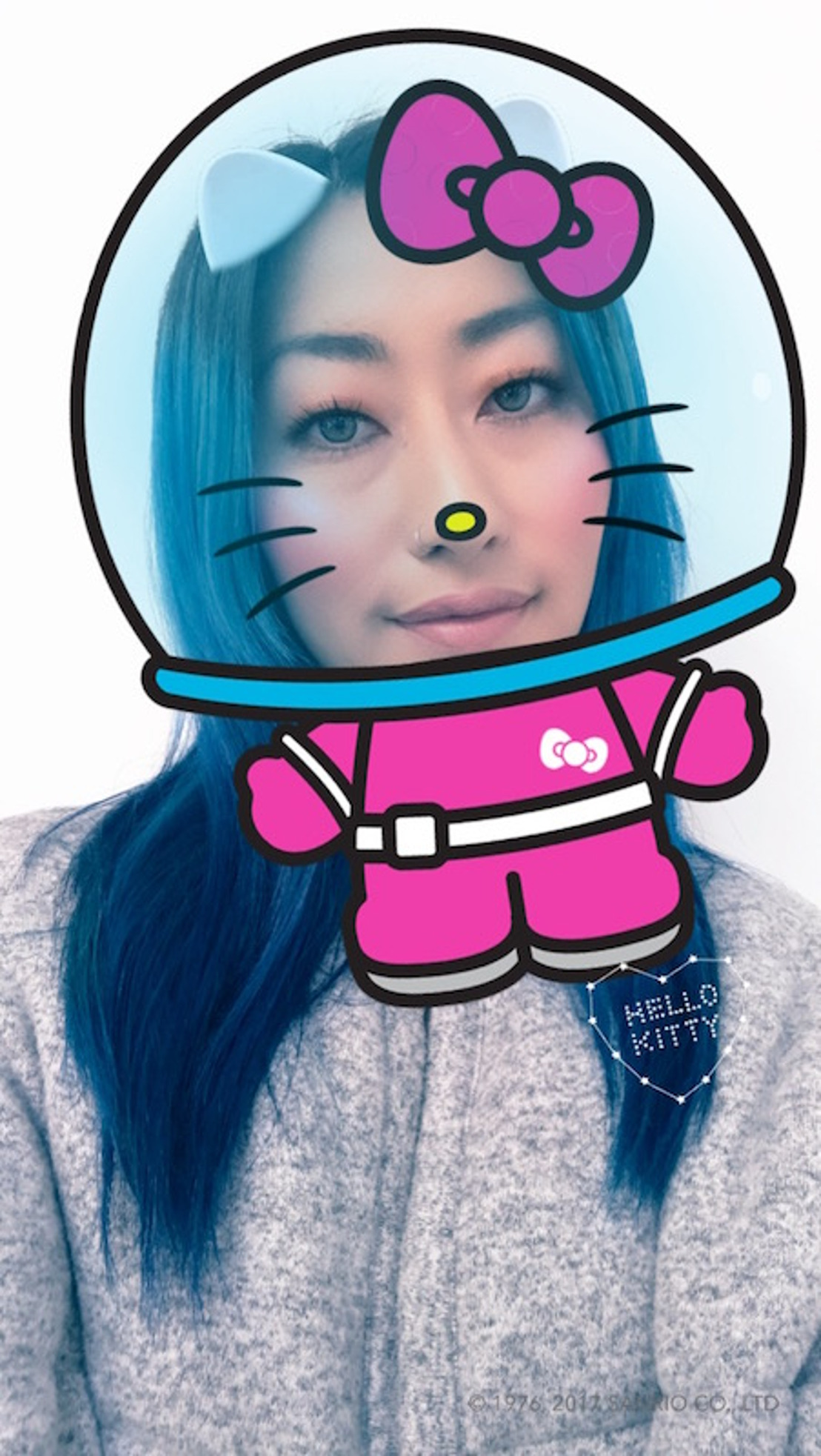 ¡Por tiempo limitado filtros de Hello Kitty en Snapchat!