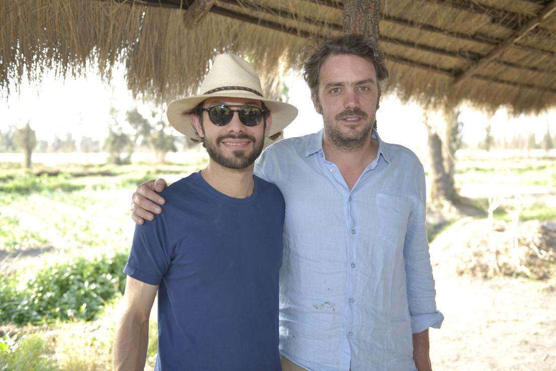 Chef Joaquín Cardoso y Lucio Usobiaga, Director de Yolcan