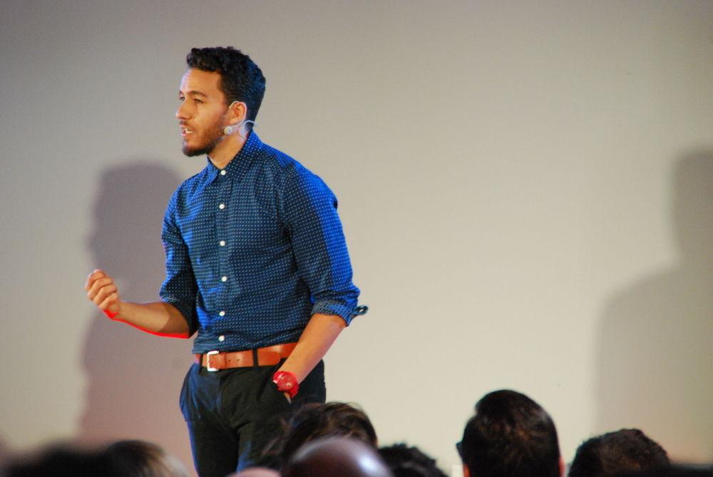 The Dance of Storytelling | Ish Ait Hamou | TEDxUBIWiltz