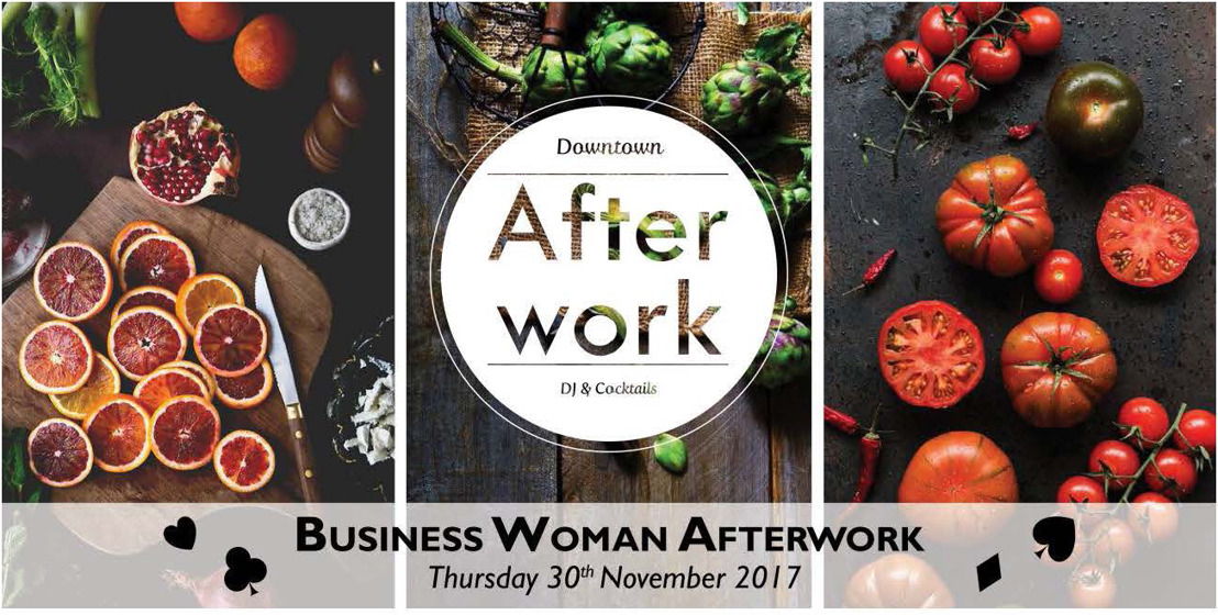 Uitnodiging Business Women Afterwork - donderdag 30 novembre