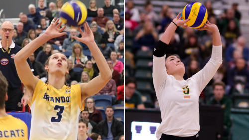CW three stars: Volleyball setters shine