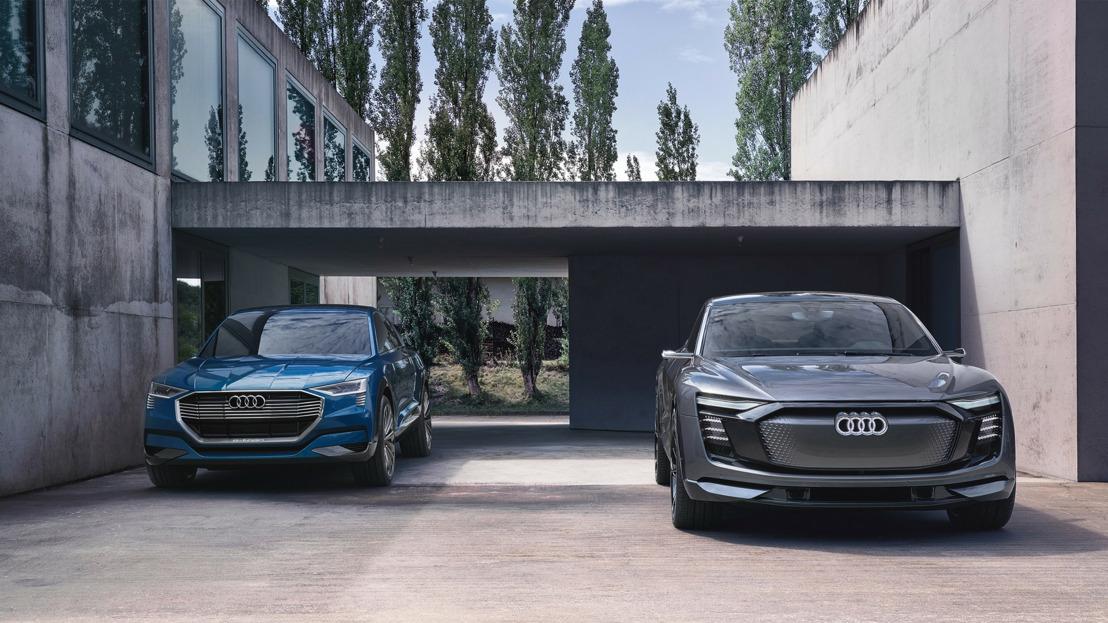 Ouverture des préréservations des voitures électriques Audi en Belgique