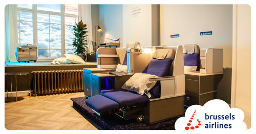 """Brussels Airlines ouvre un """"boutique hôtel dans les airs"""""""