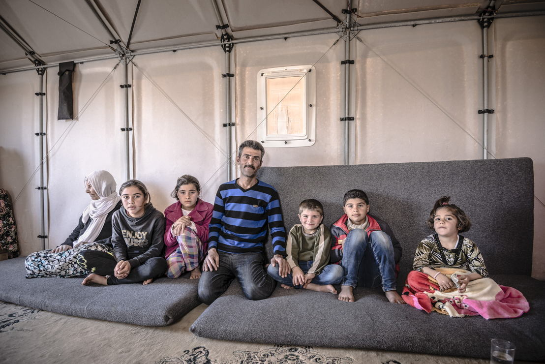 Kawergosk Refugee Camp, Erbil, Iraq March 2015 © Better Shelter