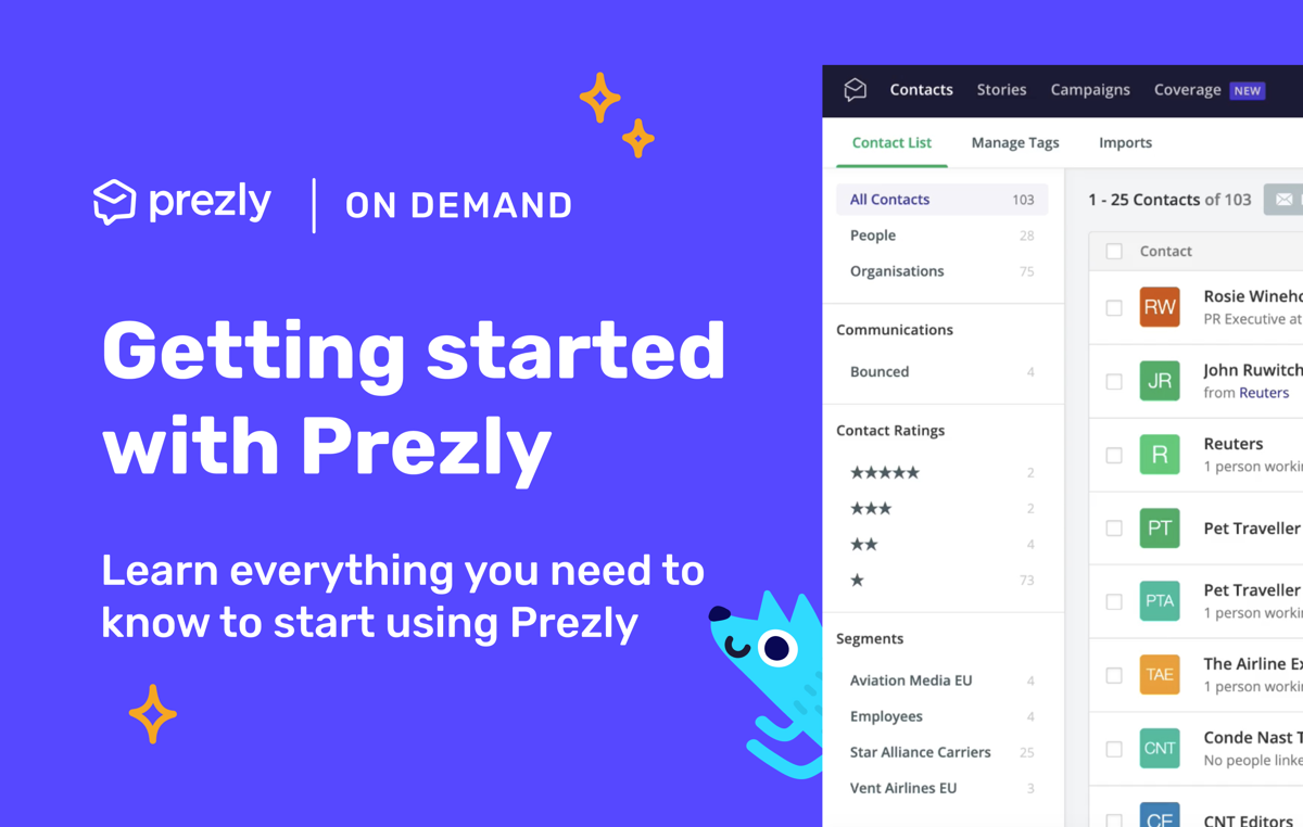Help: A full beginner's guide to Prezly