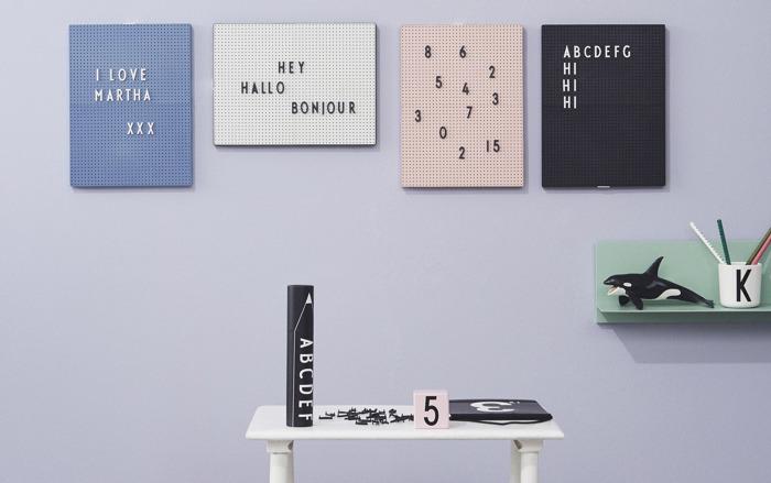 """Back to school met Nordic Living en de retro letterborden van """"Design Letters"""""""