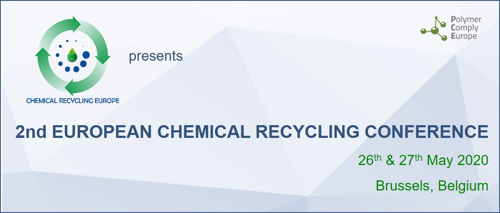 SAVE THE DATE! - 2nd EUROPEAN CHEMICAL RECYCLING CONFERENCE