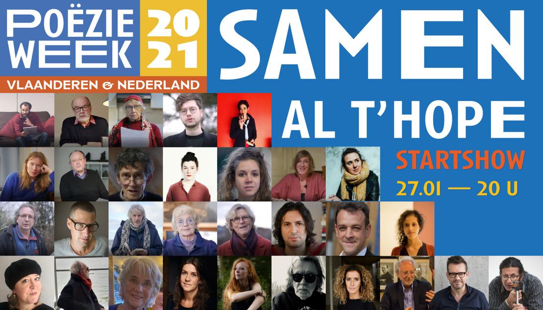 Poëzieweek brengt mensen samen in Antwerpen