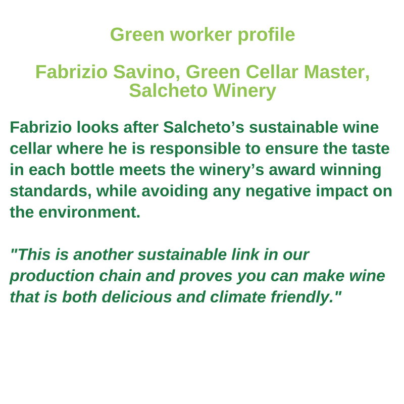Green worker profile - Fabrizio Savino