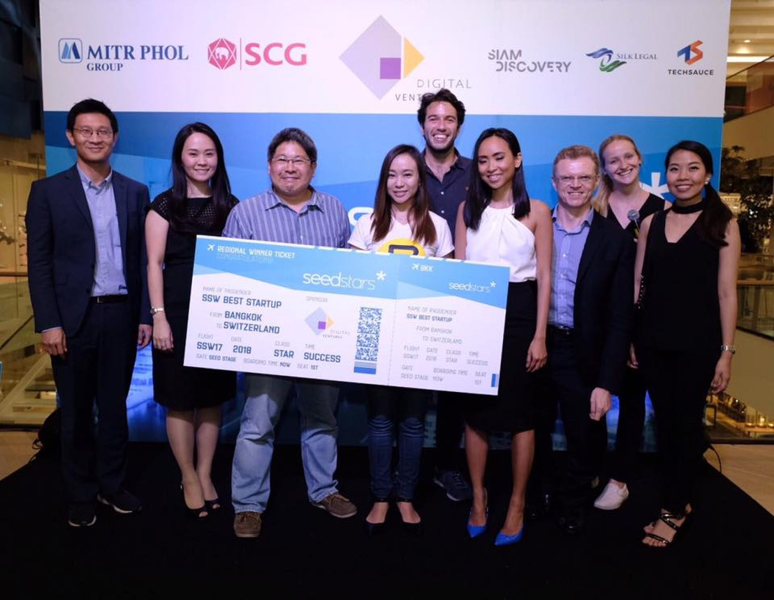 Event Banana Named Thailand's Most Promising Tech Startup at Seedstars Bangkok