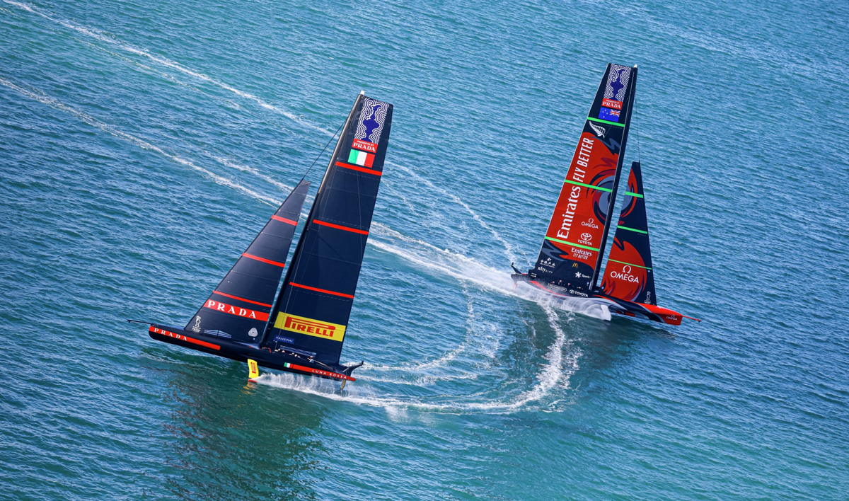 Riedel's 360° technology concept enabled a stunning coverage of the America's Cup Photo credit: © ACE | Studio Borlenghi. Photo courtesy of America's Cup