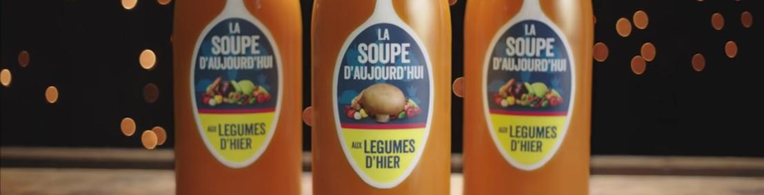 Lidl et BBDO ont mijoté une savoureuse campagne contre le gaspillage alimentaire