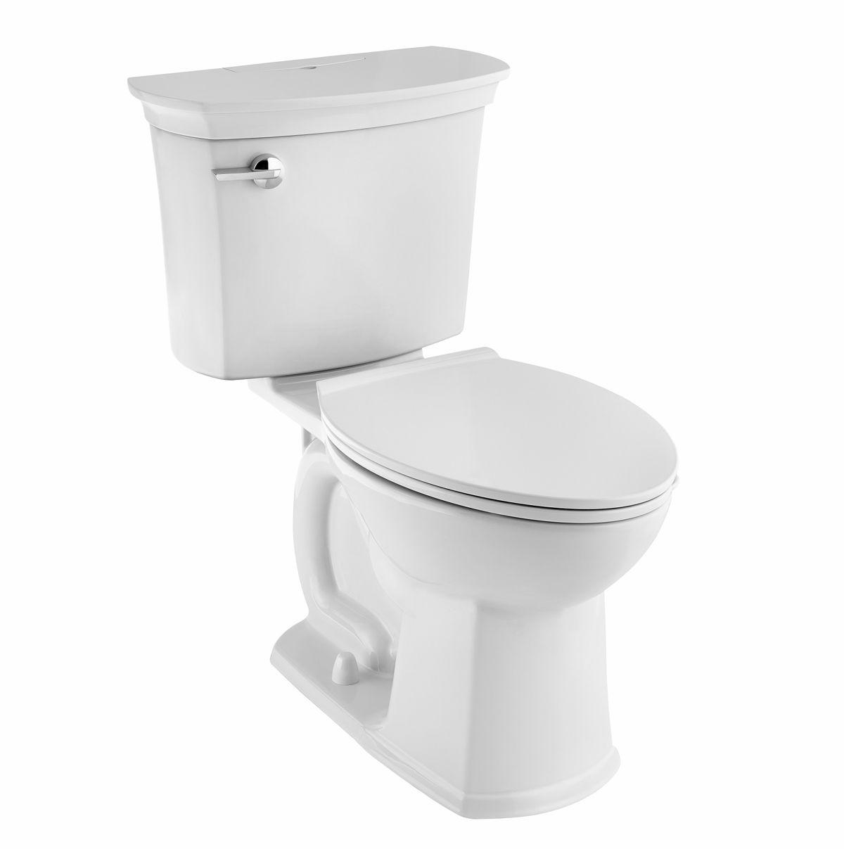 American Standard ActiClean toilet. Photo courtesy of American Standard at Ferguson Bath, Kitchen & Lighting Gallery.