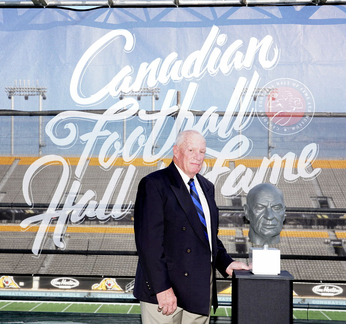 Paul Brûlé, Canadian Football Hall of Fame Class of 2018. Photo credit: Harry Preiss/CFL.ca