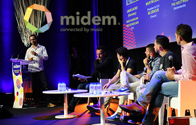 Jooki rocking at the finals of the MidemLab music startup competition