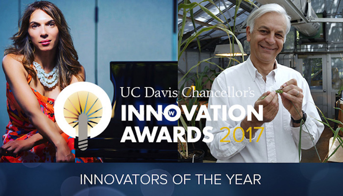 Lara Downes recipient of UC Davis' 2017 Innovator of the Year Award