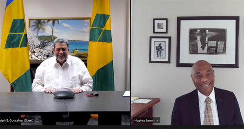 New President Underscores CDB's Support for St. Vincent and the Grenadines Recovery